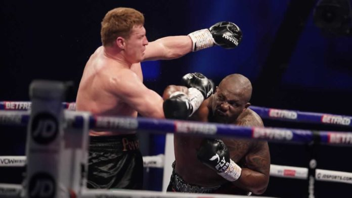 Dillian Whyte knocks out Alexander Povetkin in the fourth round