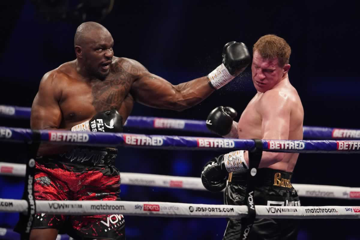 Best Shots: Dillian Whyte stops Alexander Povetkin to regain interim WBC heavyweight title thumbnail