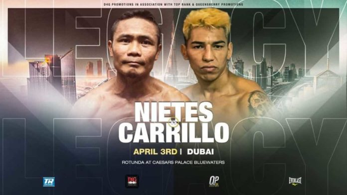 Donnie Nietes vs Pablo Carrillo
