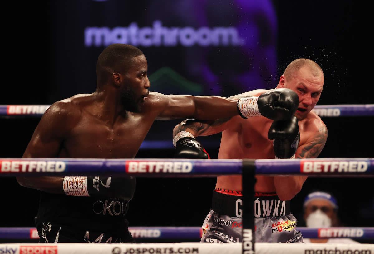Best Shots: Lawrence Okolie crushes Krzysztof Glowacki to earn WBO Cruiserweight title