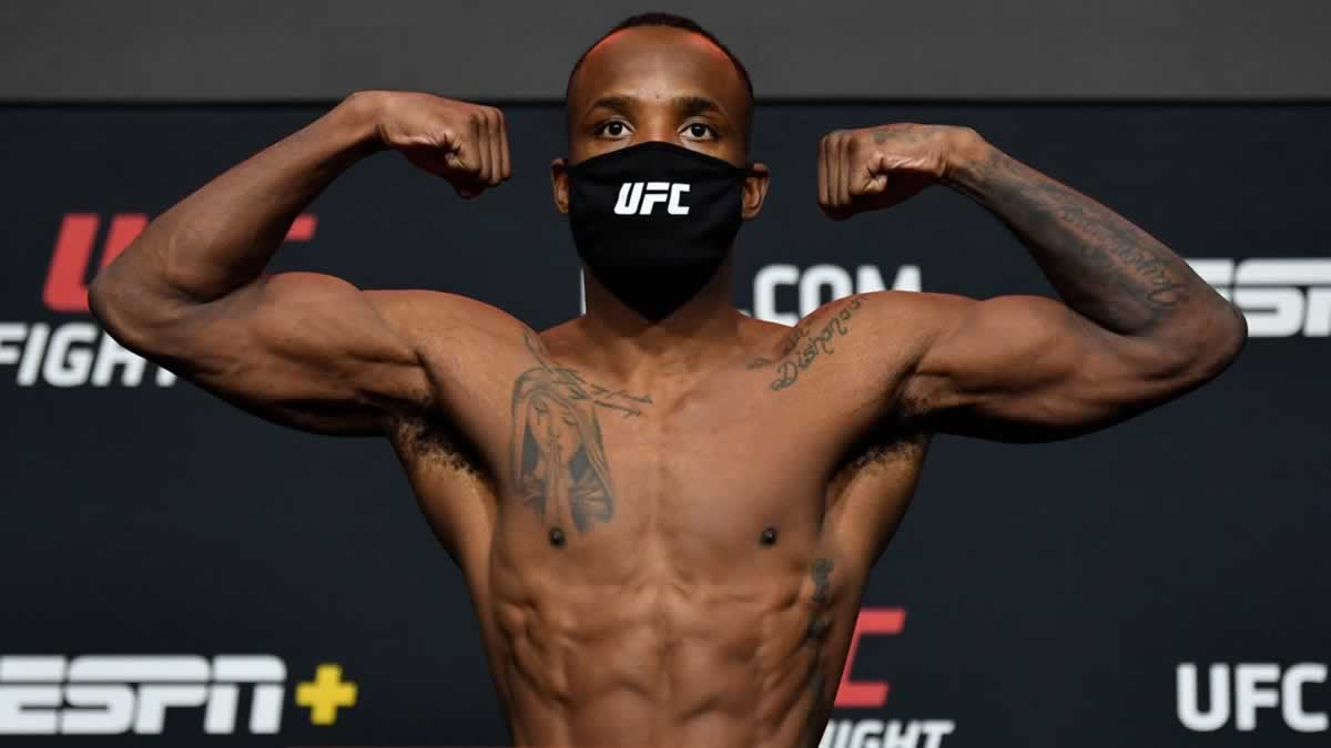UFC Vegas 21 weigh-in results: Edwards vs Muhammad official, full card set (video)