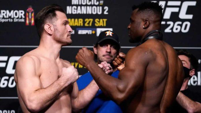 UFC 260 Stipe Miocic vs Francis Ngannou 2