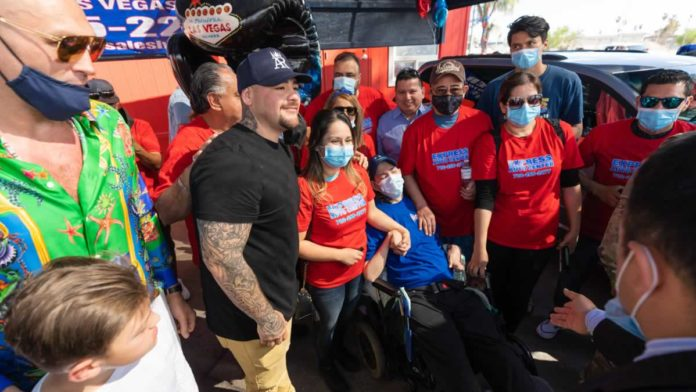 Andy Ruiz Jr joins the Project Hope initiative