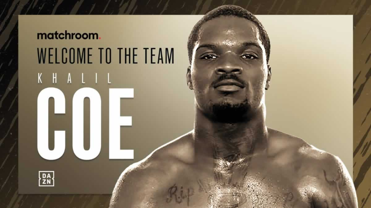 Team USA Khalil Coe joins Matchroom Boxing, pro debut set for May 29 on Haney vs Linares undercard