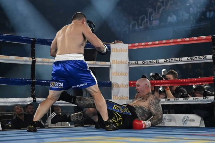 Paul Gallen vs Lucas Browne