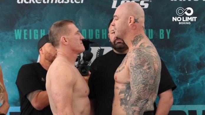 Paul Gallen vs Lucas Browne