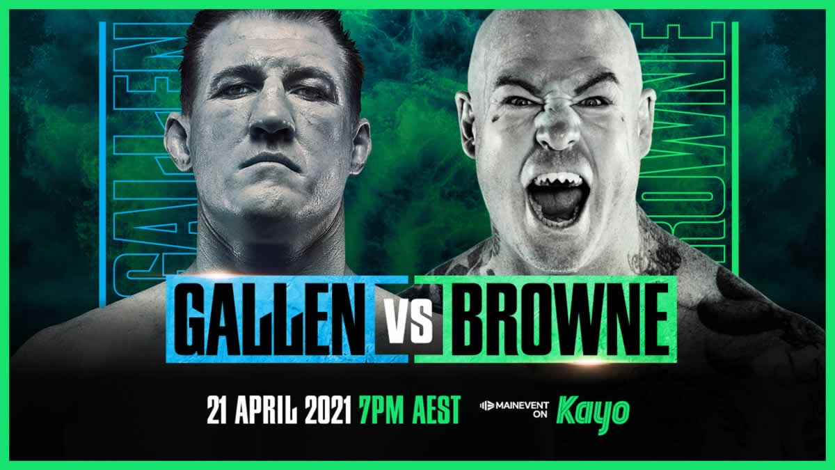 Paul Gallen vs Lucas Browne live stream PPV on sale now, tickets cost and start time set