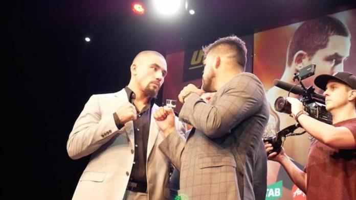 UFC Vegas 24 Robert Whittaker vs Kelvin Gastelum