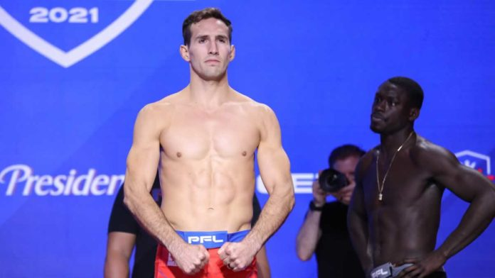 Rory MacDonald weighs-in for PFL debut