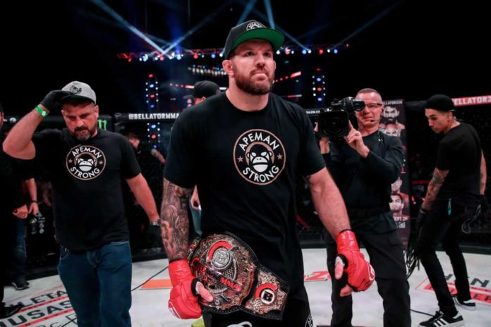 Bellator heavyweight champion Ryan Bader