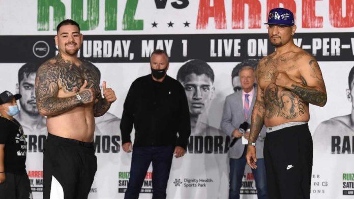 Andy Ruiz Jr vs Chris Arreola