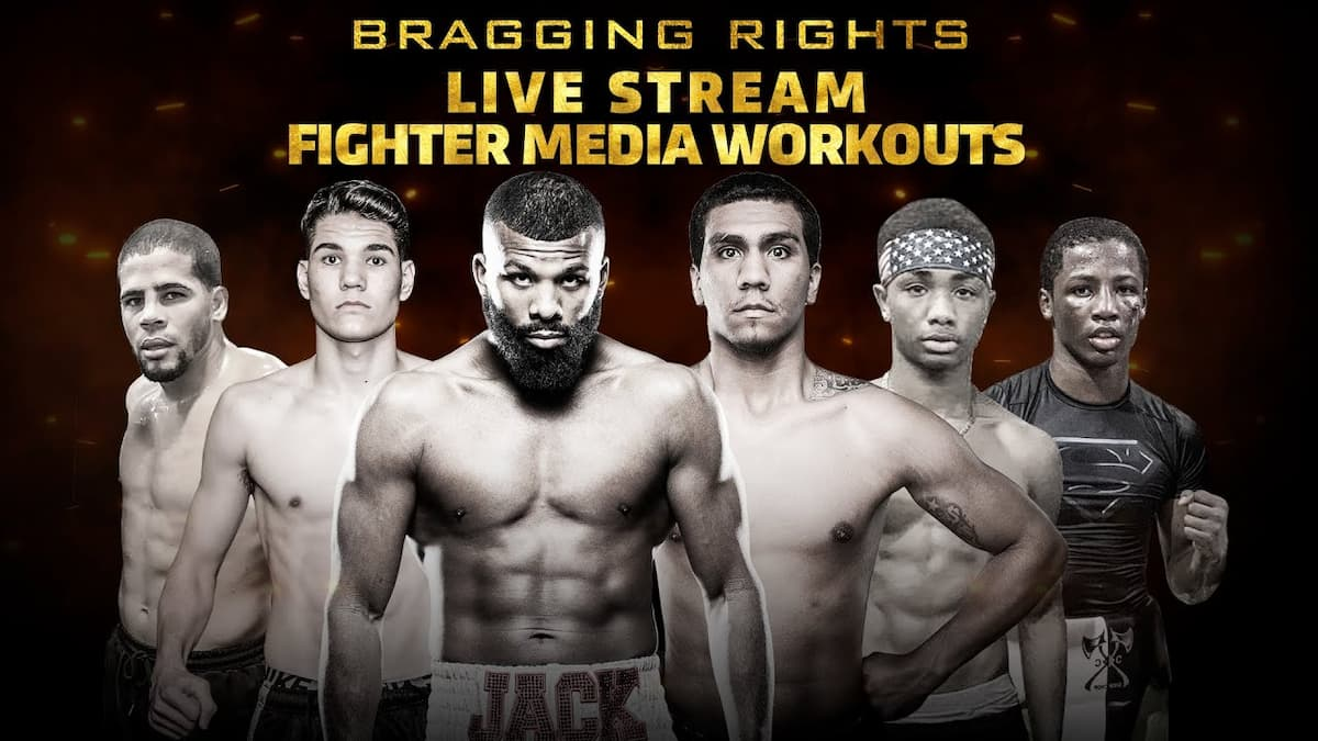 Media Workout with Badou Jack, Luis Arias and more – live from Mayweather Boxing Club