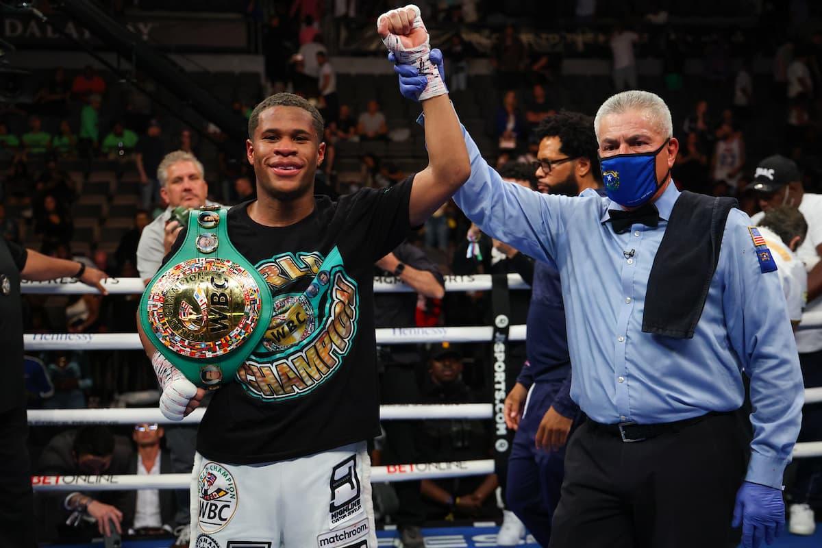 Devin Haney retains WBC lightweight title