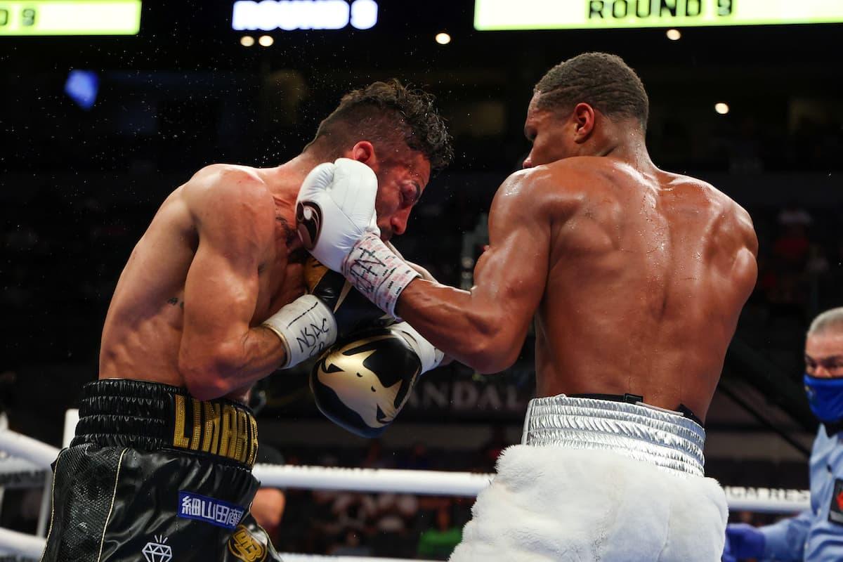 Devin Haney vs Jorge Linares