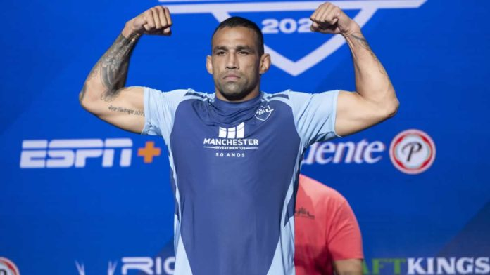 Fabricio Werdum weighs-in for PFL MMA debut