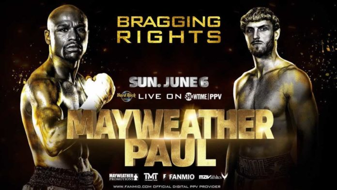Floyd Mayweather vs Logan Paul airs live on Showtime PPV