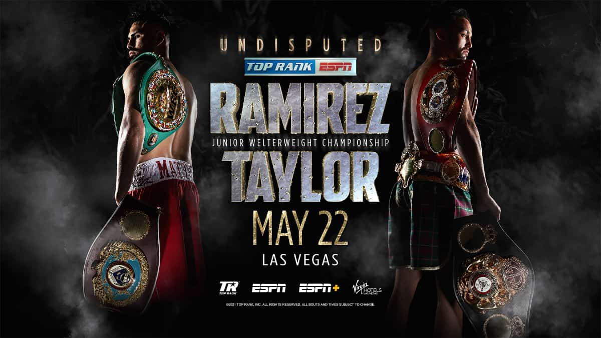 Ramirez vs Taylor: How to watch live stream, date and fight time