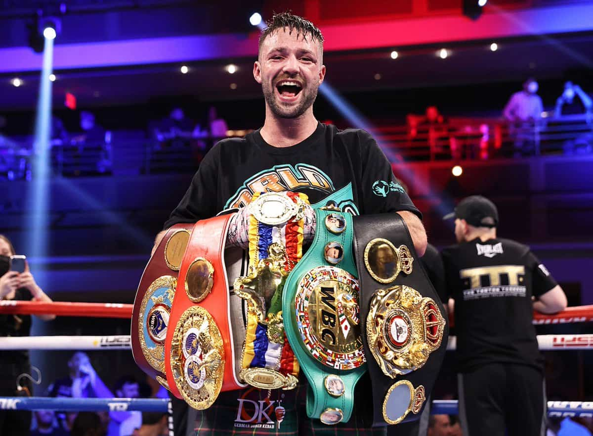 Josh Taylor wins undisputed junior welterweight title