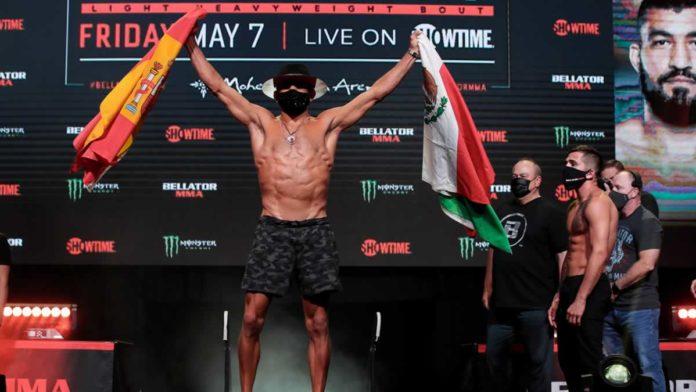 Juan Archuleta weigh-in