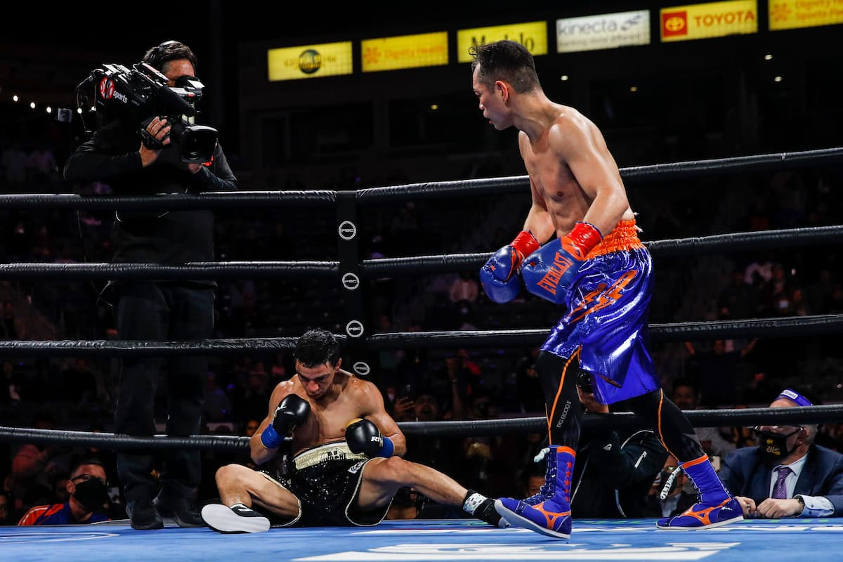 Best Shots: Nonito Donaire stops Nordine Oubaali to make history