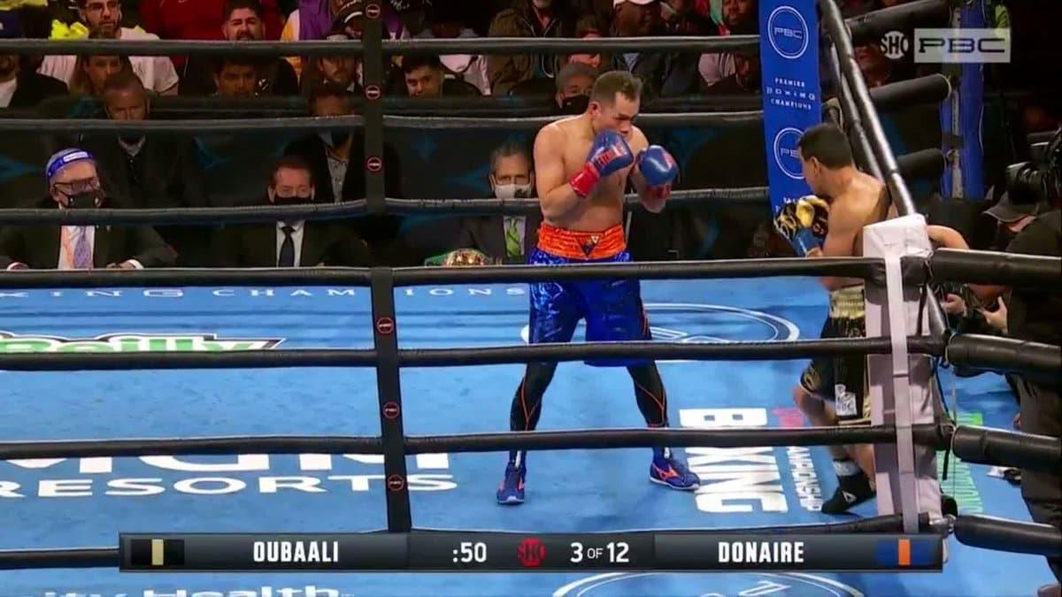 Nordine Oubaali vs Nonito Donaire full fight video highlights
