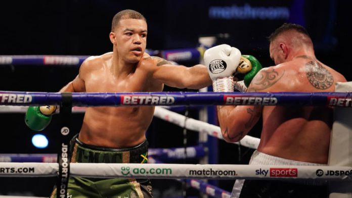 Tommy McCarthy signs with Matchroom Boxing