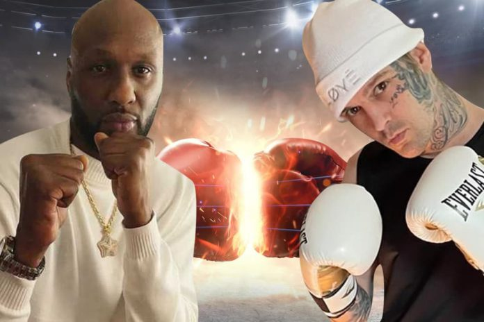 Celebrity Boxing: Odom vs Carter
