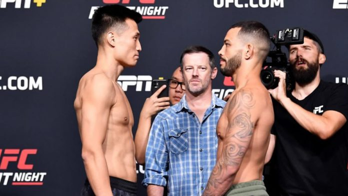 UFC Vegas 29: Chan Sung Jung vs Dan Ige