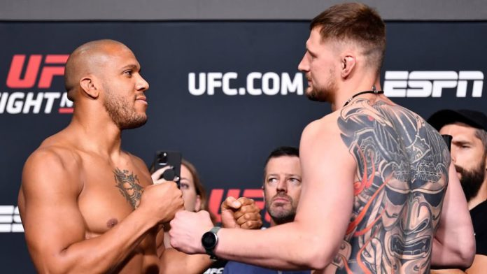 UFC Vegas 30 Ciryl Gane vs Alexander Volkov