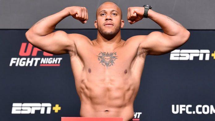 UFC heavyweight Ciryl Gane weigh-in