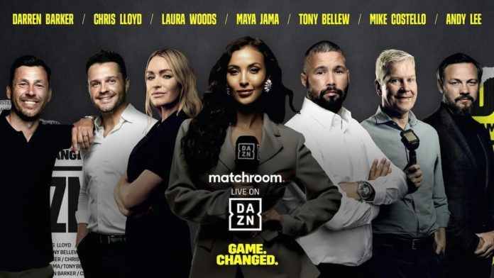 DAZN boxing on-air talent
