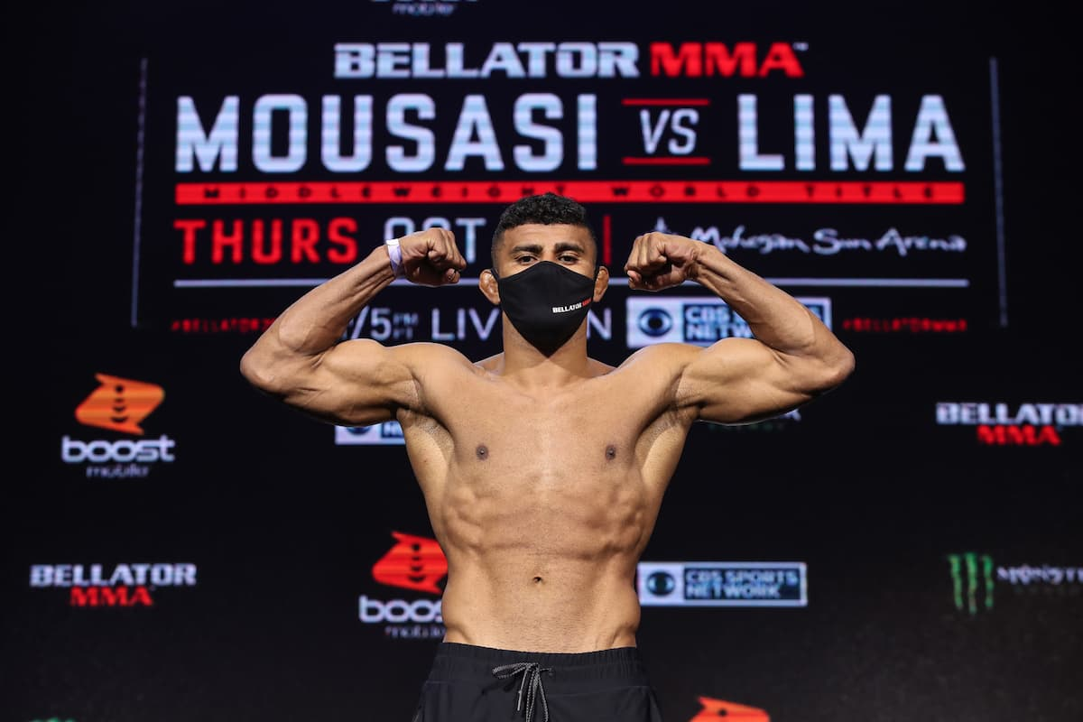 Bellator 260 weigh-in video: Douglas Lima, Yaroslav Amosov tip the scales thumbnail