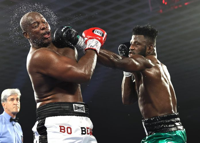 Efe Ajagba featured on Fury vs Wilder 3 undercard