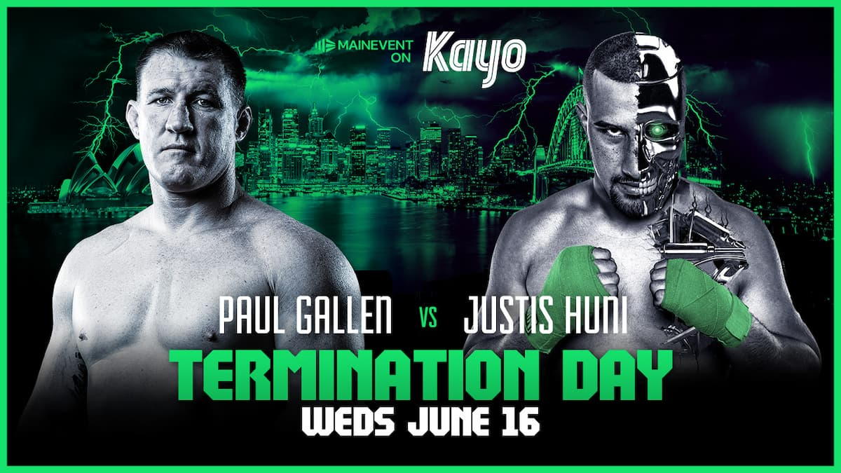 Gallen vs Huni pay-per-view tickets on sale now