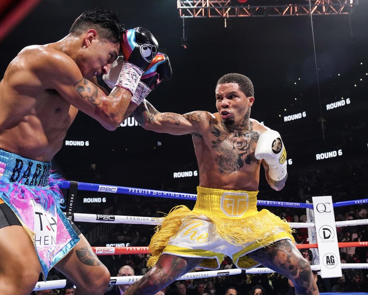 Gervonta Davis vs Mario Barrios