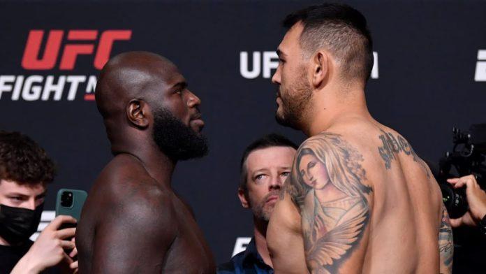 UFC Vegas 28 Jairzinho Rozenstruik vs Augusto Sakai