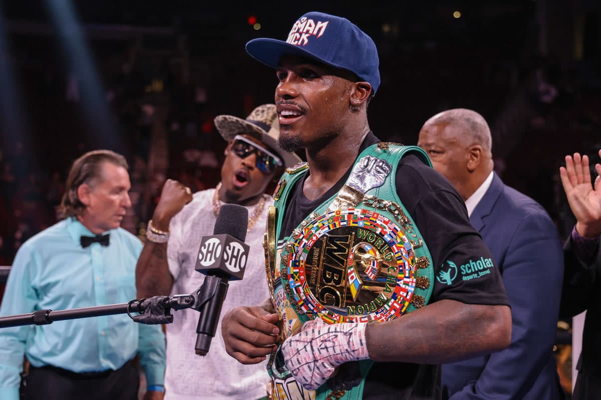 Jermall Charlo post-fight interview