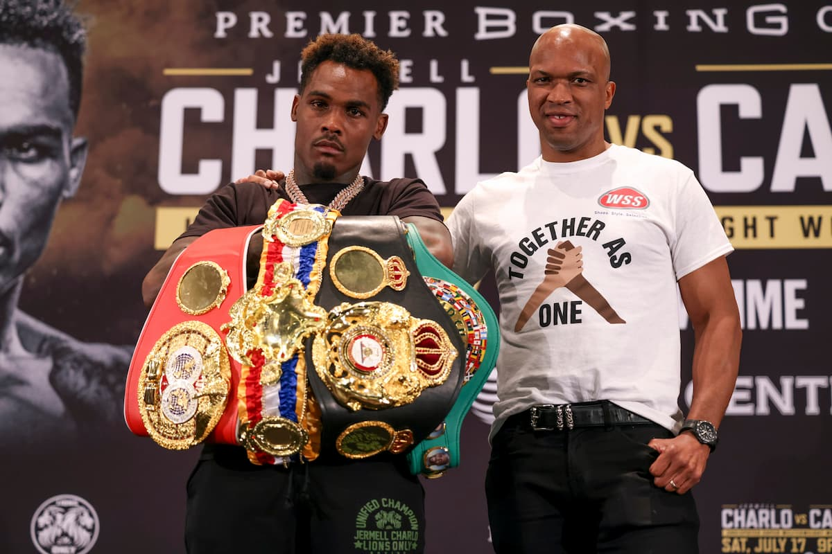 Jermell Charlo says undisputed 154-pound title is 'just another trophy', targets more belts