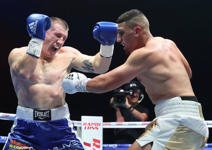 Justis Huni stops Paul Gallen in the tenth round