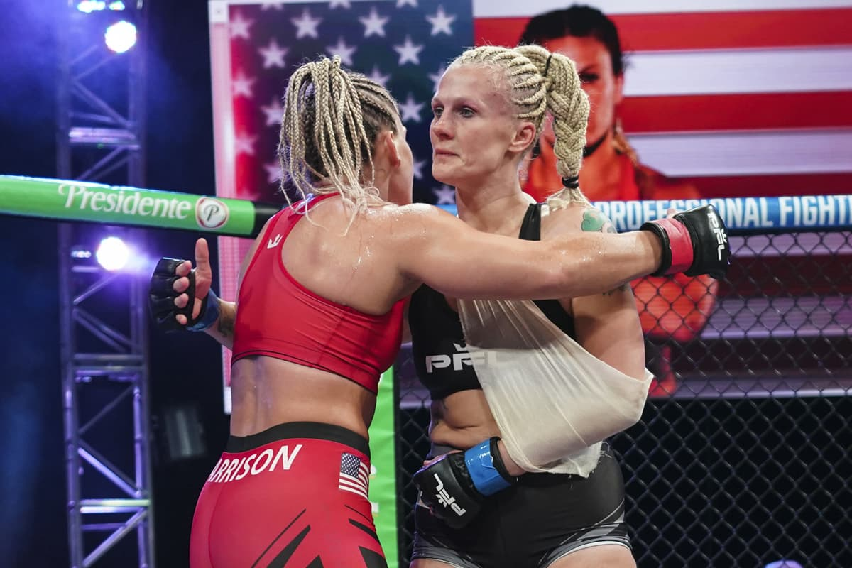 Kayla Harrison vs Cindy Dandois