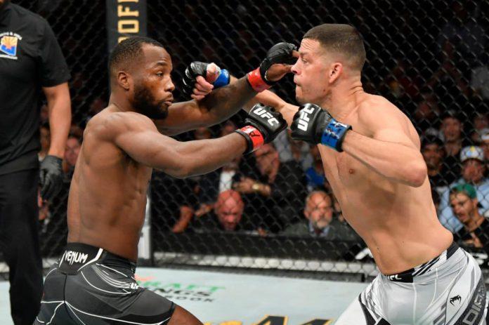 Leon Edwards vs Nate Diaz at UFC 263