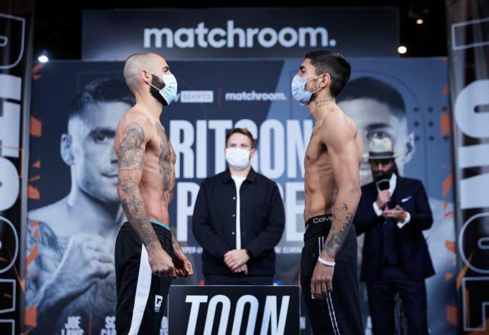Lewis Ritson vs Jeremias Ponce
