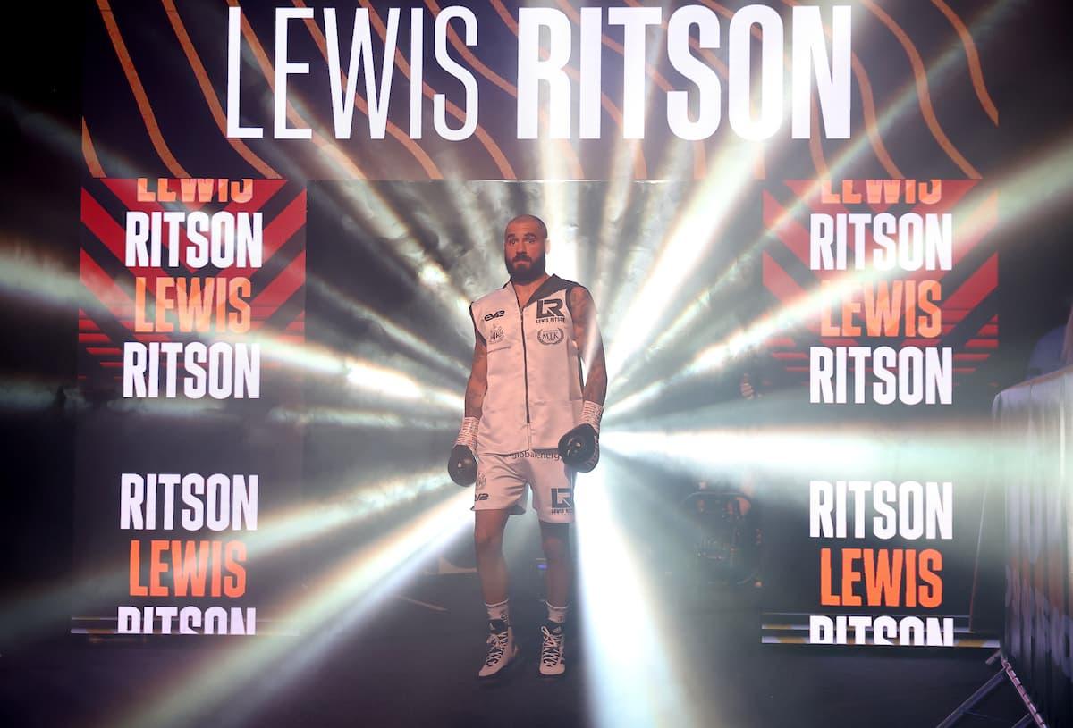 Lewis Ritson walkout