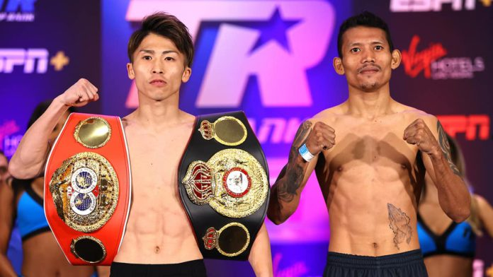 Naoya Inoue vs Michael Dasmarinas weigh-in