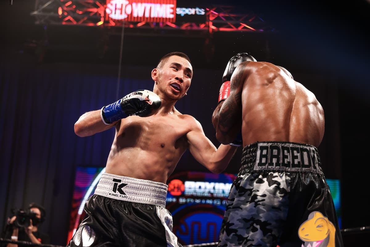 Tugstsogt Nyambayar replaces Yuriorkis Gamboa in Chris Colbert fight on July 3