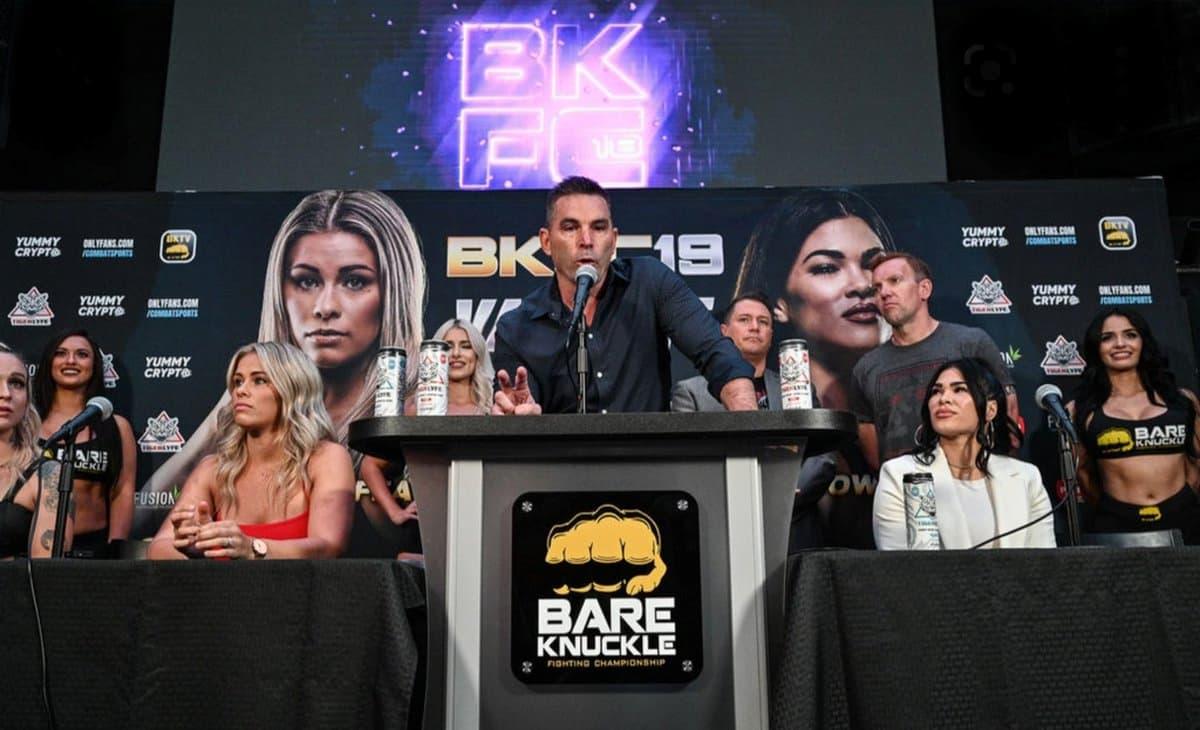 BKFC 19 post-fight press conference live stream video, VanZant vs Ostovich