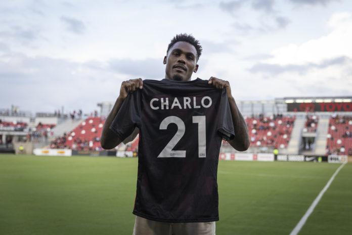 Jermell Charlo at San Antonio FC game