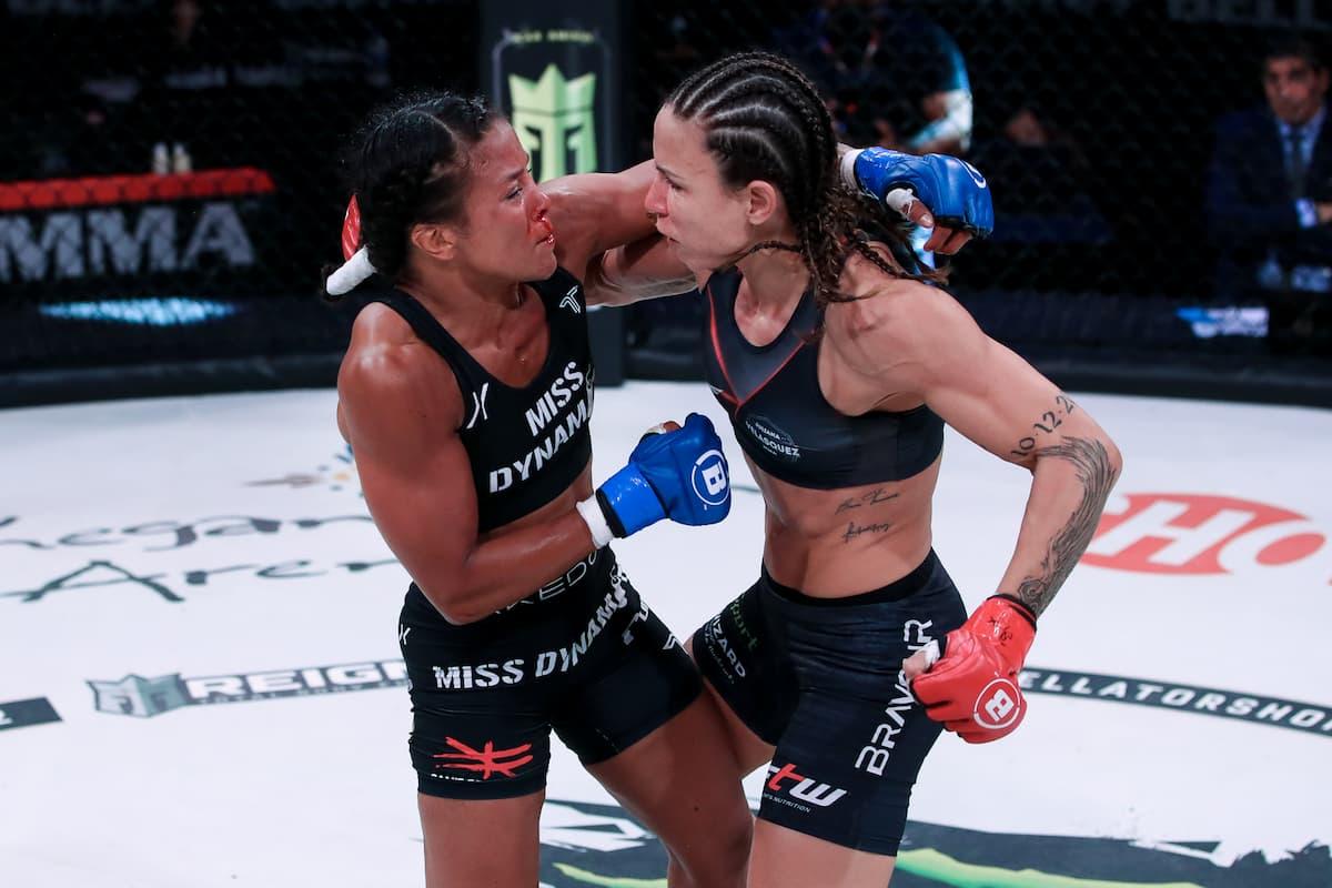 Best Shots: Juliana Velasquez takes split decision against Denise Kielholtz