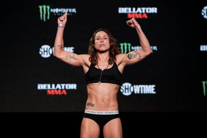 Juliana Velasquez weigh-in