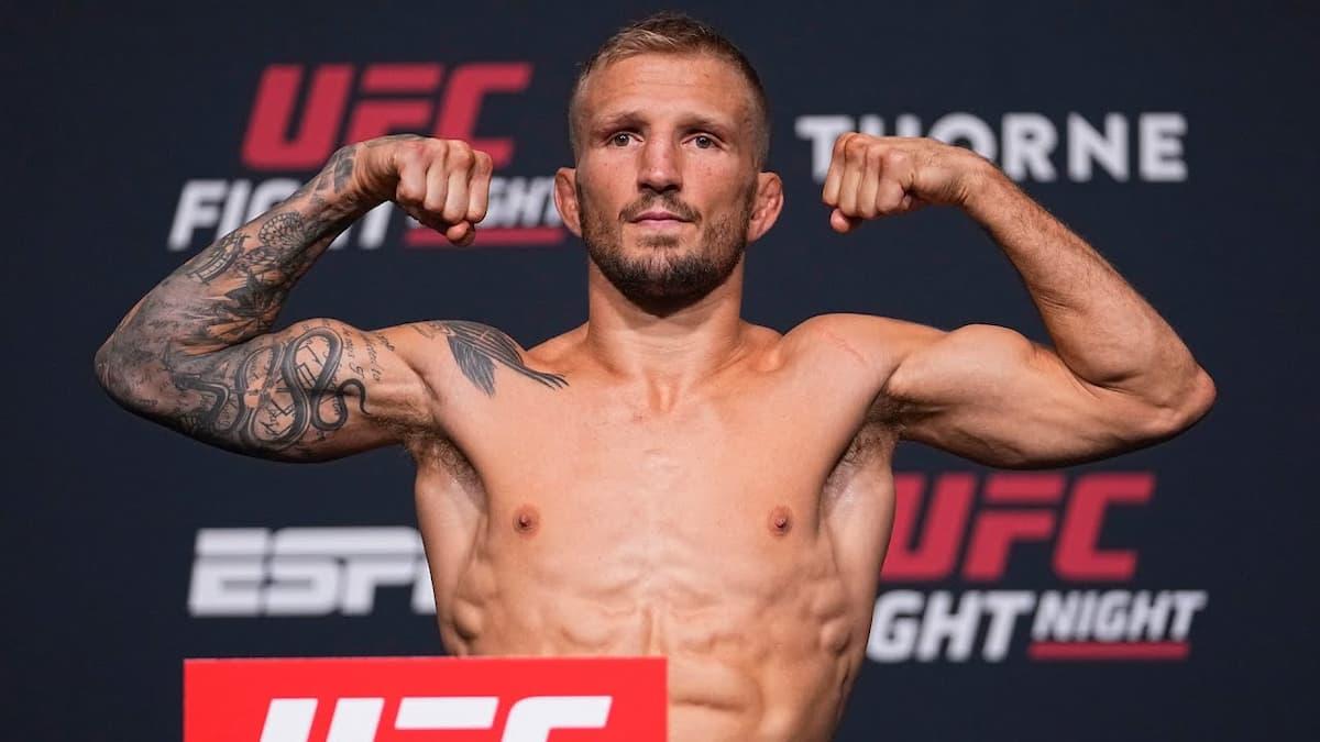 UFC Vegas 32 weigh-in results: Sandhagen vs Dillashaw official, full card set